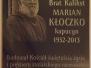 Poświęcenie tablicy Brata Kaliksta - 6 marca 2018