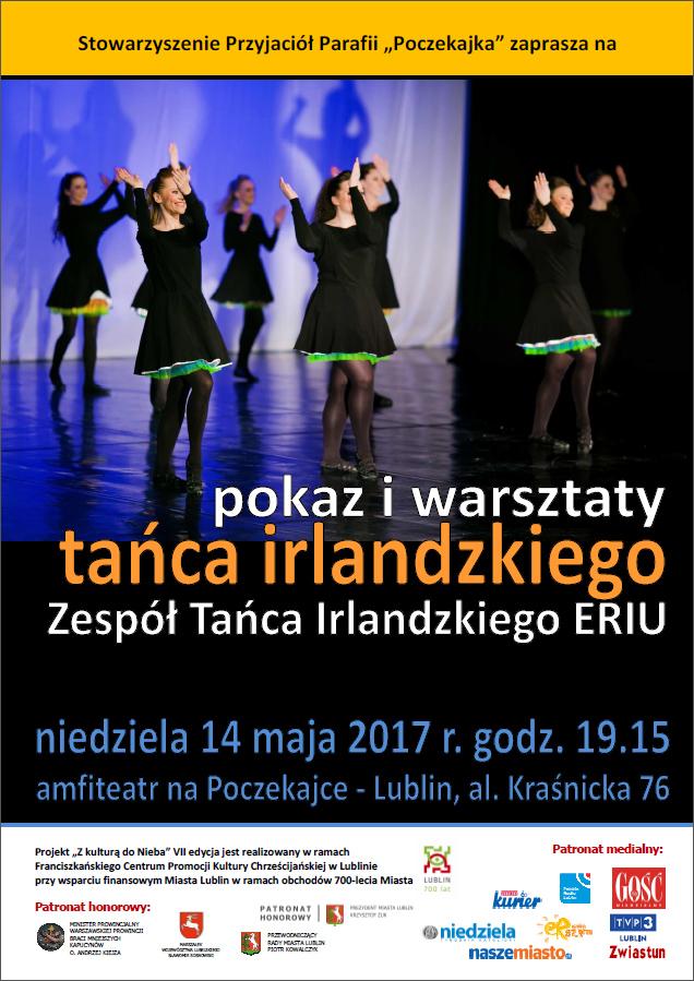 Pokaz i warsztaty tańca irlandzkiego