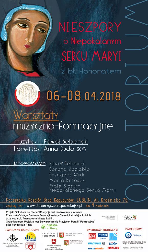 Koncert wieńczący warsztaty muzyczno - formacyjne: Nieszpory o Niepokalanym Sercu Maryi