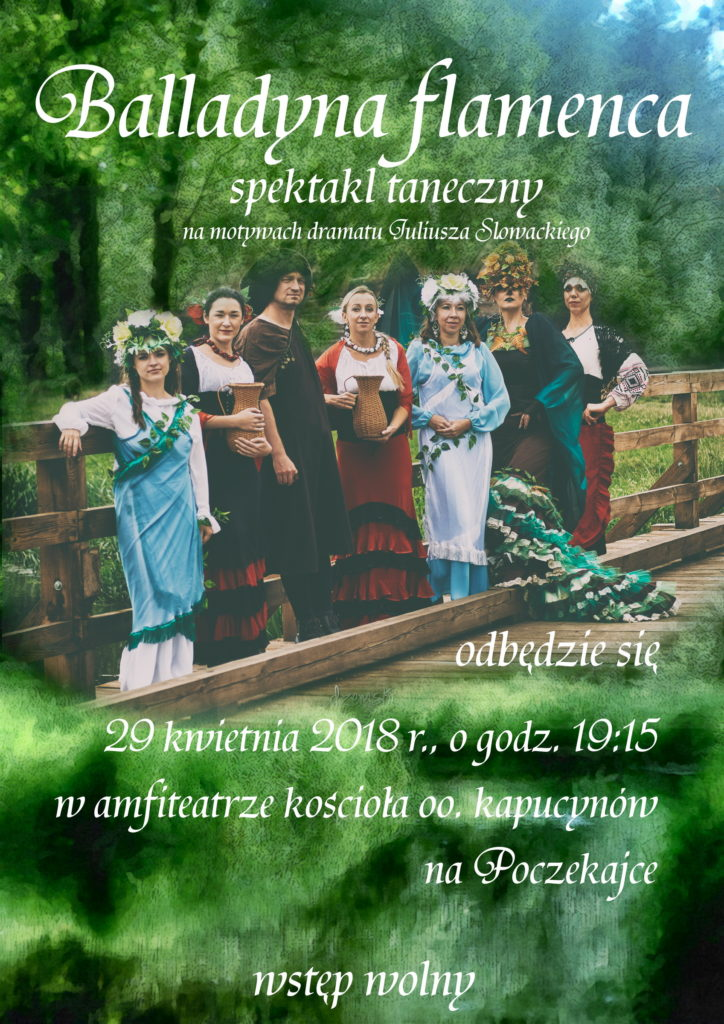 Spektakl Balladyna Flamenca