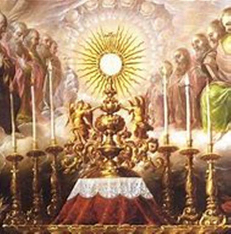 Uroczystość Bożego Ciała i Krwi Chrystusa