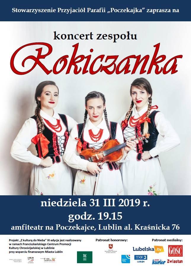 Koncert zespołu ROKICZANKA