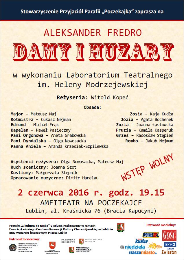 Komedia DAMY I HUZARY na Poczekajce