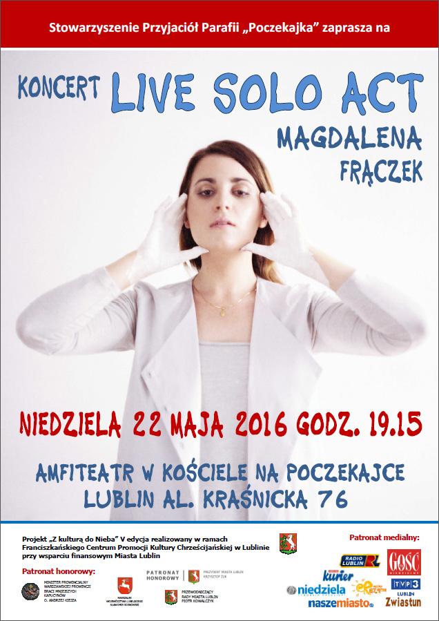 Koncert Magdaleny Frączek na Poczekajce