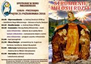 Strumienie Miłosierdzia  - Spotkanie modlitewne w Roku Miłosierdzia na Poczekajce