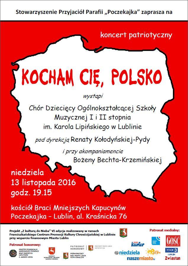 Zaproszenie na Koncert Patriotyczny