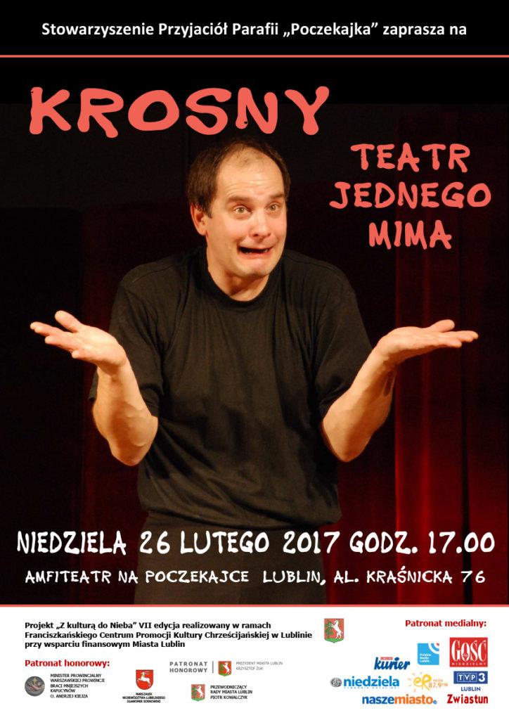 Krosny Teatr jednego mima - na Poczekajce