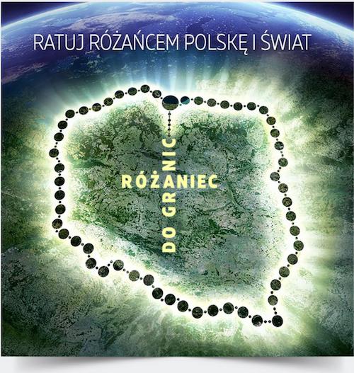 Różaniec do Granic - wyjazd z Poczekajki