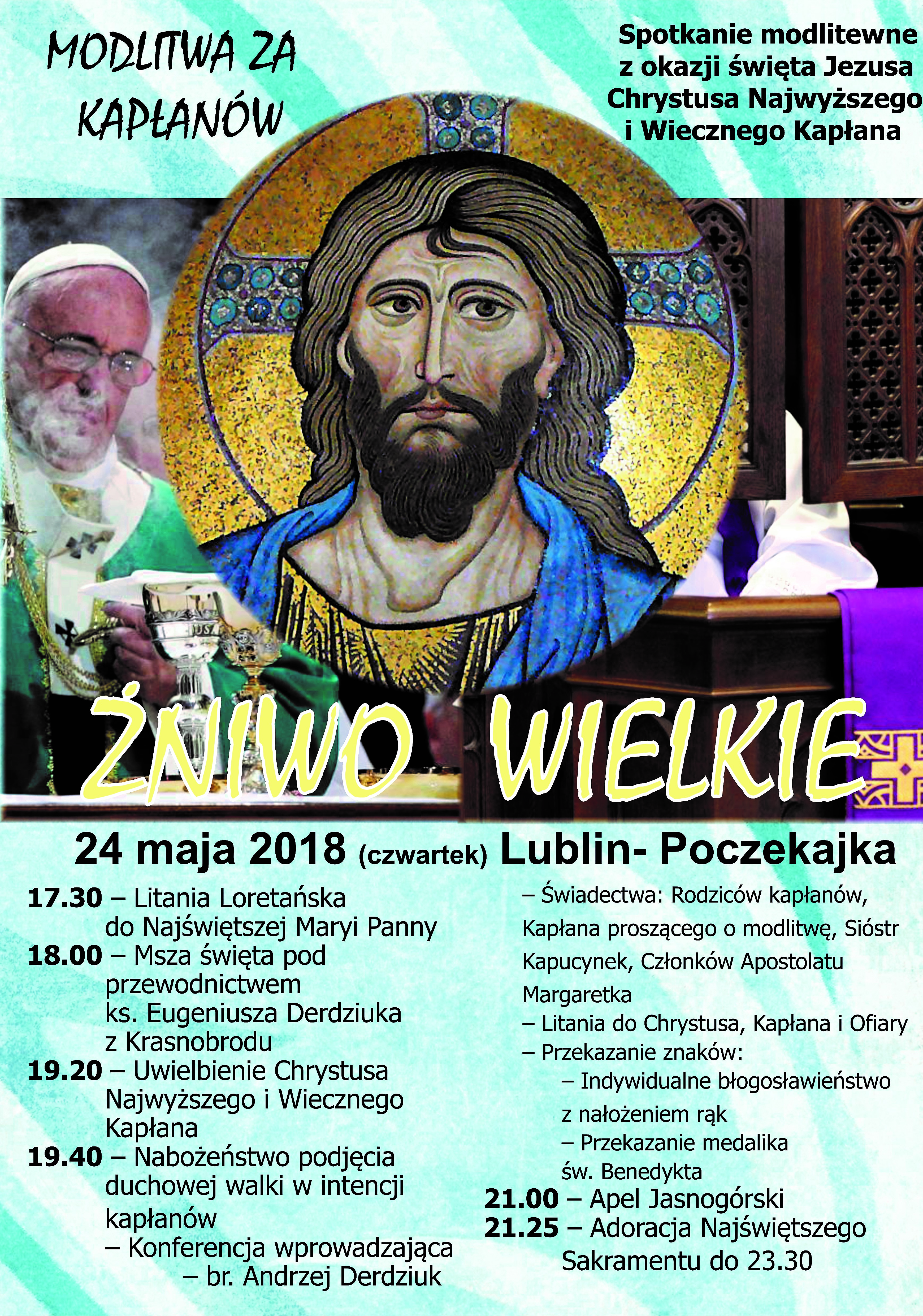 """""""ŻNIWO WIELKIE"""" - Modlitwa  za Kapłanów"""