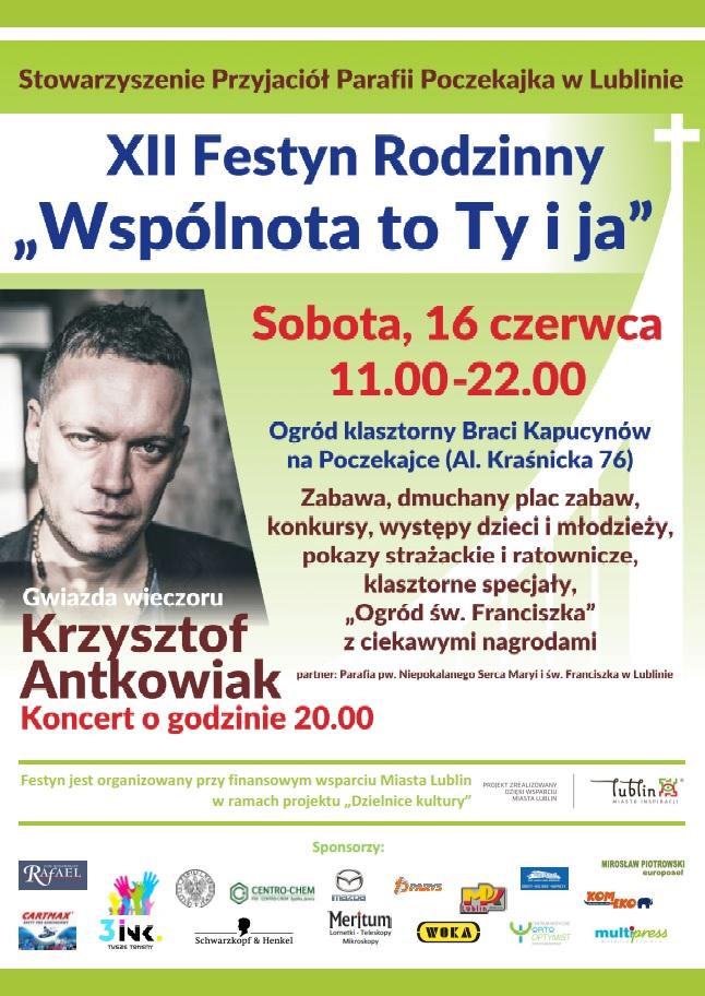 """Festyn Rodzinny """"Wspólnota to Ty i ja"""" na Poczekajce !!!!"""
