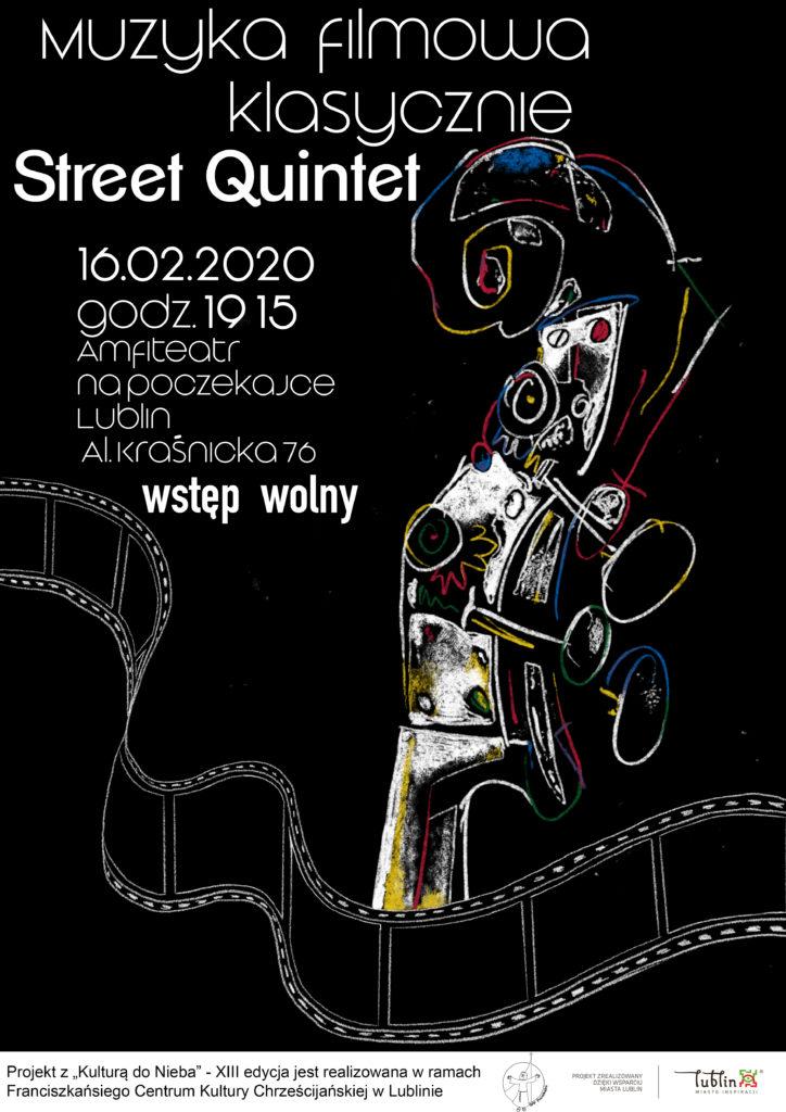 Muzyka filmowa klasycznie – Street Quintet