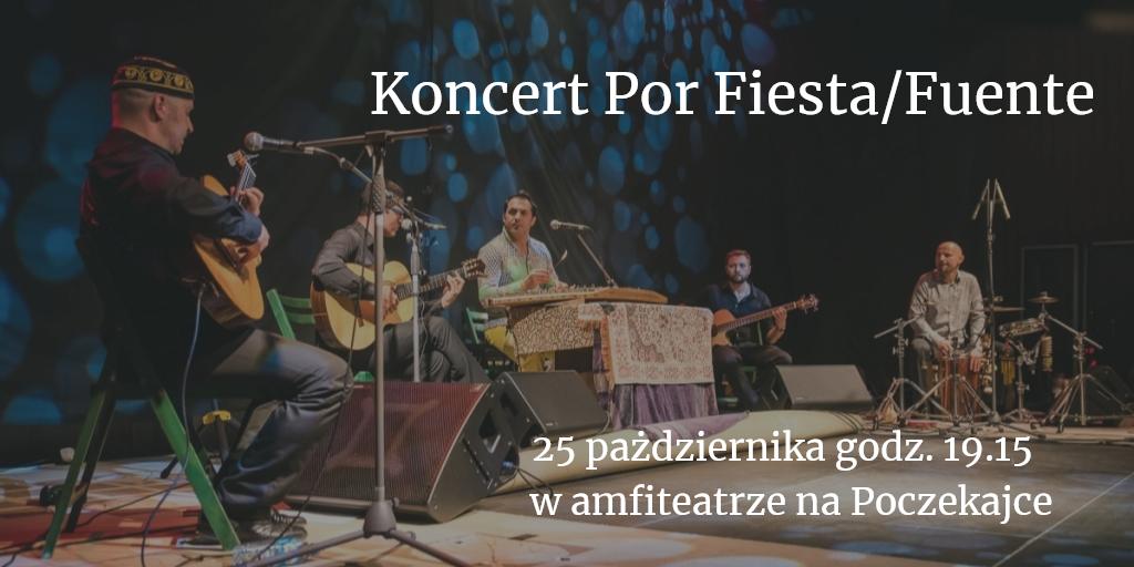 Koncert Por Fiesta/Fuente - ONLINE i na żywo