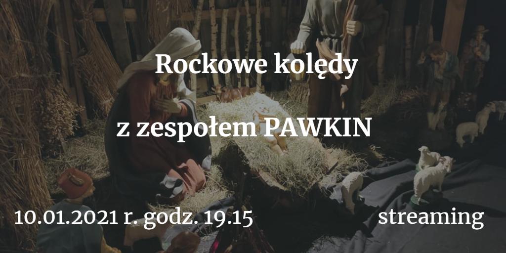 """""""Bliżej żłóbka"""" • Rockowy koncert kolęd online • zespół PAWKIN"""